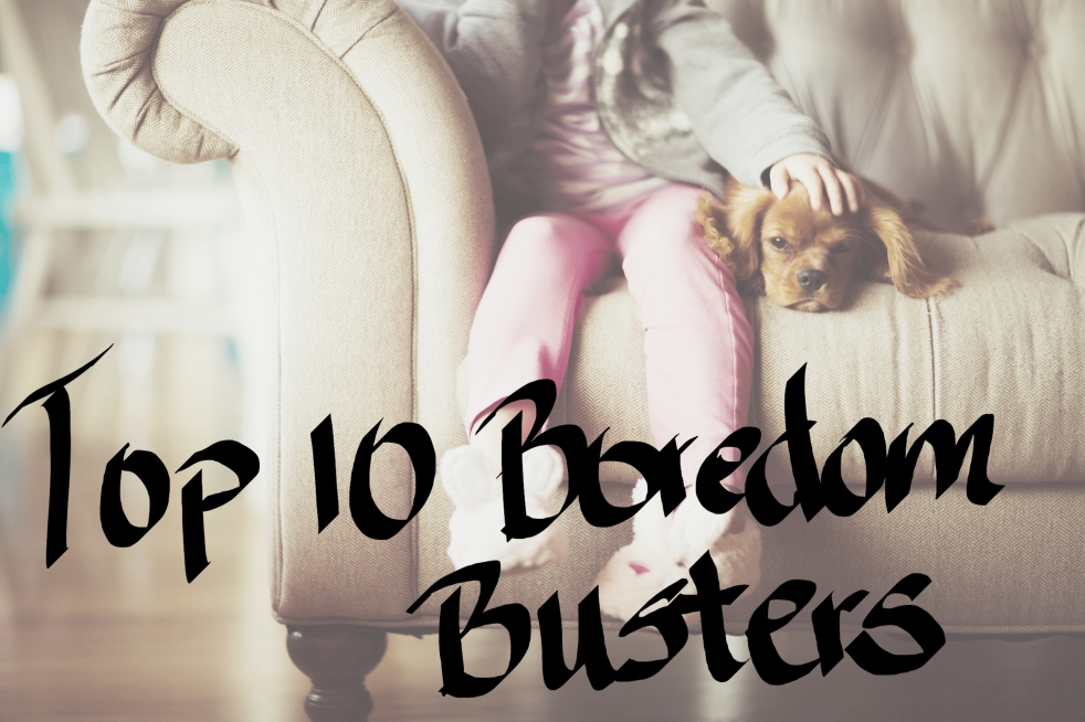 Top 10 boredom busters